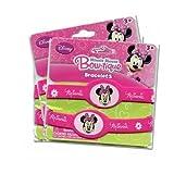 Disney Minnie Mouse Bow-tique Rubber Bracelets - Three 2-pack Set (6 Bracelets Total)