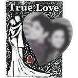 Giftz Giftz Wooden True Love Photo Frame (14 Cm X 3 Cm X 19 Cm, Black)