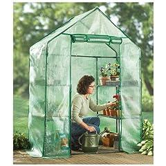 CASTLECREEK Compact Walk - in Greenhouse