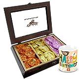 Chocholik Luxury Chocolates - Delicious Treat Of Rocks Collection With Birthday Mug