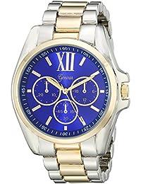 Geneva Women's 2436B-GEN Analog Display Analog Quartz Two Tone Watch