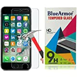 BlueArmor HD Clear Tempered Glass Screen Guard Protector For Apple Iphone 7