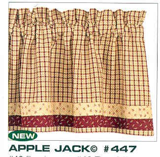 Apple Jack Country Valance