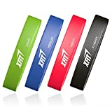 XFIT Premium Resistance Loop Bands - Exercise Bands Improves Body Posture, Muscle Tone, Flexibility, Strength...