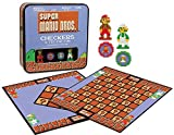 Super Mario Bros Checkers & Tic-Tac-Toe Collector's Edition Board Game