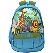 Shopaholic Jungle Animals Cool School Bag For Kids - 410799