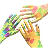 Gardening Gloves For Women From Star Quality Products Offers Medium Size & 6 Pairs Of Assorted Colors