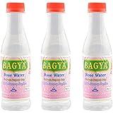 Bagya's Rose Water (3.5 Cm X 3 Cm X 16 Cm, Clear, 3 Bottles)