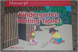 51NWud7qHKL. SX258 BO1,204,203,200  - Kindergarten Writing Tablet