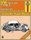 Image of VW Type 3 1500 & 1600  '63'73 (Haynes Manuals)