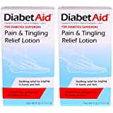 DiabetAid Pain & Tingling Relief Lotion, 4 Ounce (Pack Of 2)