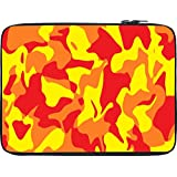 Snoogg Camouflage Red 2762 12 To 12.6 Inch Laptop Netbook Notebook Slipcase Sleeve