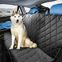 DMC Pet Supplies Waterproof Non Slip Backing Pet Seat Cover For Cars Trucks And SUV's, Black