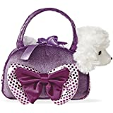 Aurora World Fancy Pal Poodle With Bow, Purple (8-inch)