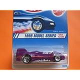 1994 - Mattel - Hot Wheels - 1995 Model Series - Power Rocket - Purple - #11 Of 12 Cars - 1:64 Scale