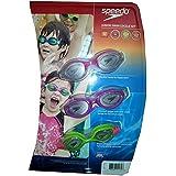 Speedo Junior Swim Goggle Set - Pink, Purple And Green, One Size/Multi
