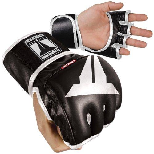 Throwdown Freedom Fighter - Guantes de entrenamiento para artes marciales, color negro,...
