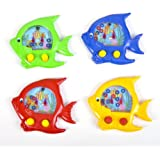 """Handheld Water Ring Games ~ Fish Theme ~ Approx. 5"""" ~ New ~ Fish Water Toy, Sea Life Party Favors (P"""