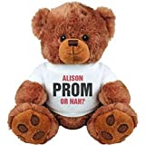 ALISON Prom Or Nah Funny: Medium Plush Teddy Bear