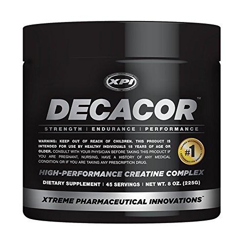 Decacor Creatine (45 Serv) - Best Creatine Powder - 10 Creatine Blend - Top Creatine Supplement - Muscles, Power, Recovery