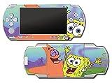Spongebob Squarepants Sponge Bob Patrick Bikini Bottom Video Game Vinyl Decal Skin Sticker Cover for Sony PSP Playstation Portable Original Fat 1000 Series System