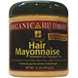 Organic Root Stimulator Hair Mayonnaise Treatment, 16 Oz (Pack Of 1)