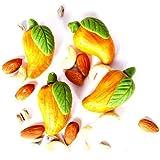Father's Gifts Ghasitaram Gifts Sugarfree Kaju Pista Mango Mithai 400 Gms