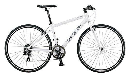 LOUIS GARNEAU(ルイガノ) LOUIS GARNEAU(ルイガノ) LGS-CHASSE 2015年モデル クロスバイク マットホワイト/420mm 15LG-CSE-02