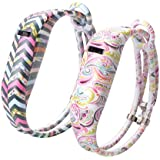 Anyprize 2pcs Pattern Replacement Bands For Fitbit Flex / Wireless Activity Bracelet Sport Wristband / Fitbit...