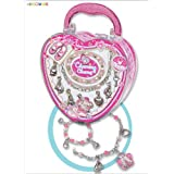 Pecoware Little Dancer Charming Charm Necklace & Bracelet Set