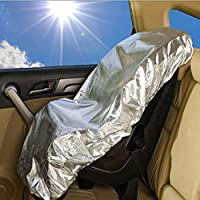 Alotpower Car Seat Cover Canopy Children Safety Sun Shade UV Protection Cover For Kids