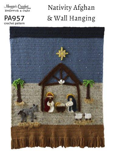 Crochet Pattern Nativity Wallhanging