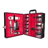 Bar Accessories | Mega Bar Set | Portable Leatherette Briefcase Bar Set | Bar Set | Bar Set For Picnic | Bar Set... - B01BMI1M5A