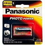 PANASONIC CR-123 Photo Battery 3V Lithium 1 Pack