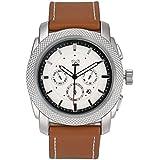 DEESEE TM Mens Wristwatch Mens Date Stainless Steel Military Sports Quartz Wrist Watch