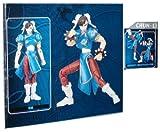 Street Fighter Microman Micro Action Series 4 Inch Action Figure - CHUN-LI with Figure Sta...