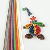 Metallic Collection - 10 Colours - 10 Mm- Quilling Paper