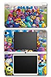 Monsters Inc University Mike Sulley Video Game Vinyl Decal Skin Sticker Cover for Nintendo DSi XL System