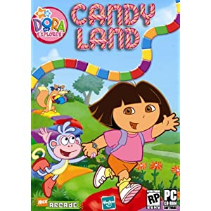 Click to buy Candy Land Dora the Explorer PC game from Amazon!