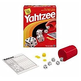 Click to order Yahtzee games from Amazon!