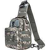 Hikingworld Tactical Sling Pack/Camping Shoulder Pack, Hiking Shoulder Pack ,Backpack, Chest Pack, Outdoor Sport...