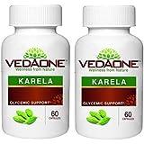 VEDAONE Karela (Momordica Charantia) Capsule ( 60 Capsule ) (Pack Of 2)