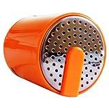Portable Mini Bluetooth Speaker - Salt And Pepper Shaker Style - Orange