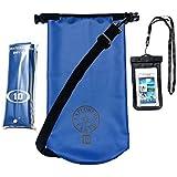 Rugged & Tough Waterproof Dry Bag 10L Dry Sack With Shoulder Strap, Bonus Cell Phone Waterproof Bag & A Storage...