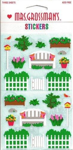Garden Theme Scrapbook Stickers (19253)