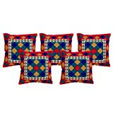 El Sandalo Cotton Printed Home Décor Cushion Covers (Set Of 5 Pcs) - B011NKF226