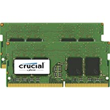 Crucial 32GB Kit 16GBx2 DDR4 2400 MT S PC4-192000 SODIMM 260-Pin Memory CT2K16G4SFD824A 32GB Kit (16GBx2)