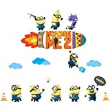 Despicable ME2 Artistic Wall Decal For Kids Room