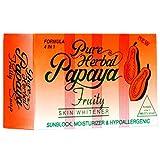 Pure Herbal Papaya Soap Skin Whitening Soap, 135gm