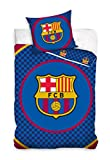 Maxi & Mini (FCB8019)  FC Barcelona Duvet Cover Bedding Set Duvet Cover 160 x 200 cm + Pillowcase 70 x 80 cm   – Decorative Teenagers' Room